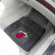Miami Heat Vinyl 2-Piece Car Floor Mats