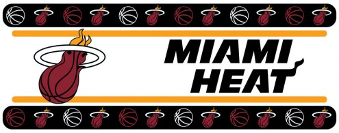 Miami Heat Wall Border