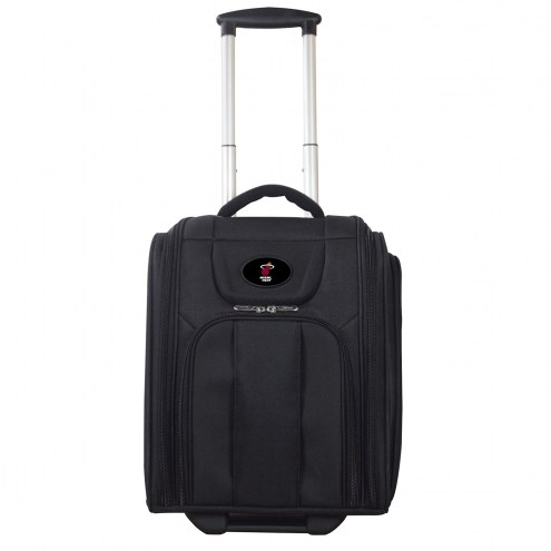 Miami Heat Wheeled Business Tote Laptop Bag