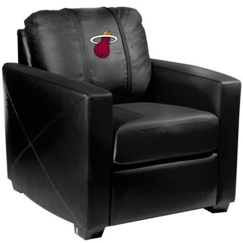 Miami Heat XZipit Silver Club Chair