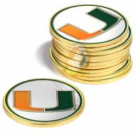 Miami Hurricanes 12-Pack Golf Ball Markers