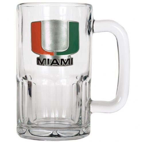 Miami Hurricanes 20 oz. Root Beer Style Mug