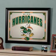 "Miami Hurricanes 23"" x 18"" Mirror"