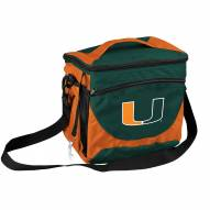 Miami Hurricanes 24 Can Cooler