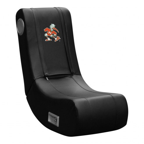 Miami Hurricanes DreamSeat Game Rocker 100 Gaming Chair