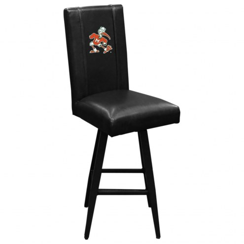 Miami Hurricanes XZipit Swivel Bar Stool 2000