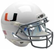 Miami Hurricanes Alternate 2 Schutt XP Authentic Full Size Football Helmet