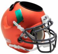 Miami Hurricanes Alternate 3 Schutt Football Helmet Desk Caddy