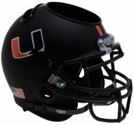 Miami Hurricanes Alternate 7 Schutt Football Helmet Desk Caddy