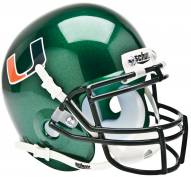 Miami Hurricanes Alternate Schutt Mini Football Helmet
