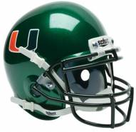 Miami Hurricanes Alternate Schutt XP Collectible Full Size Football Helmet