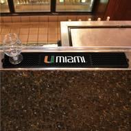 Miami Hurricanes Bar Mat