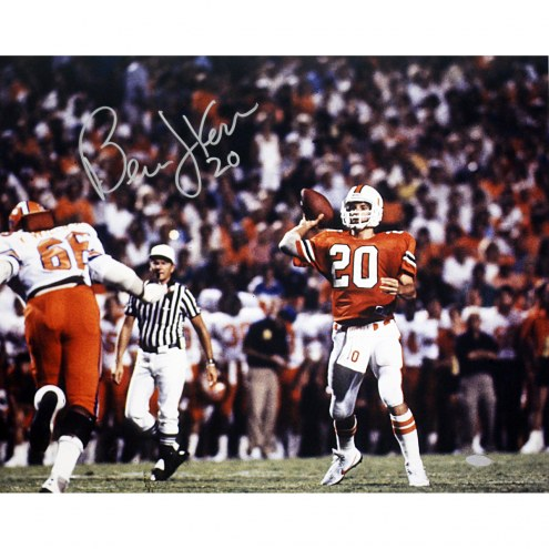 "Miami Hurricanes Bernie Kosar Signed 16"" x 20"" Photo"