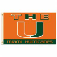 Miami Hurricanes NCAA Premium 3' x 5' Flag