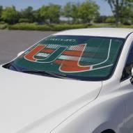 Miami Hurricanes Car Sun Shade