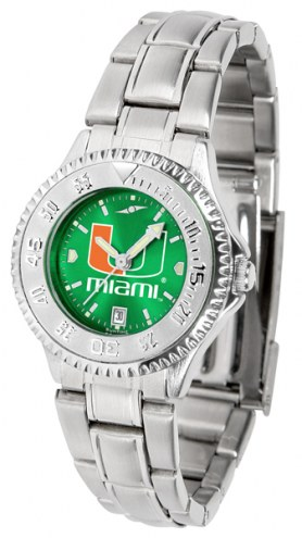Miami Hurricanes Competitor Steel AnoChrome Women's Watch