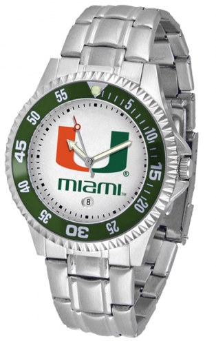 Miami Hurricanes Competitor Steel Men's Watch