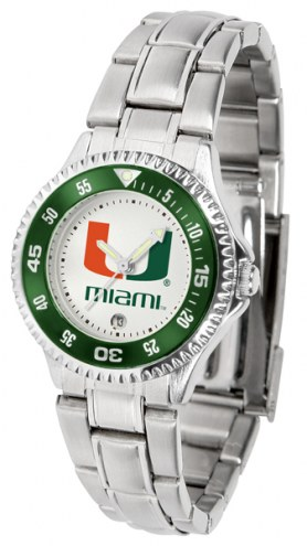 Miami Hurricanes Competitor Steel Women's Watch