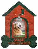 Miami Hurricanes Dog Bone House Clip Frame