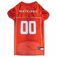 Miami Hurricanes Dog Football Jersey