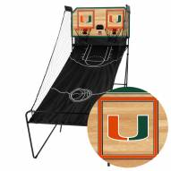 Miami Hurricanes Double Shootout Basketball Game