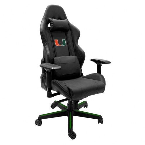 Miami Hurricanes DreamSeat Xpression Gaming Chair