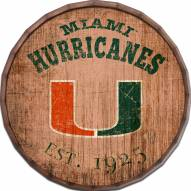 "Miami Hurricanes Established Date 24"" Barrel Top"