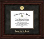 Miami Hurricanes Executive Diploma Frame