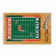 Miami Hurricanes Football Icon Cutting Board