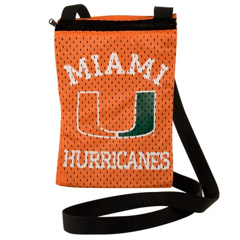 Miami Hurricanes Game Day Pouch