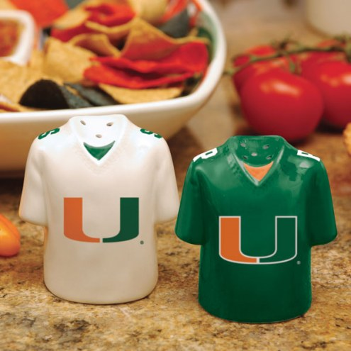 Miami Hurricanes Gameday Salt and Pepper Shakers