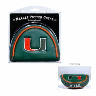 Miami Hurricanes Golf Mallet Putter Cover