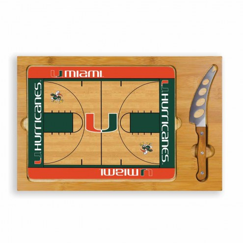 Miami Hurricanes Icon Cutting Board