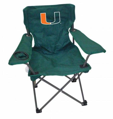 Miami Hurricanes Kids Tailgating Chair