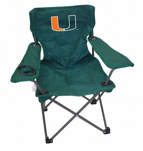 Miami Hurricanes Kids Tailgating Chair