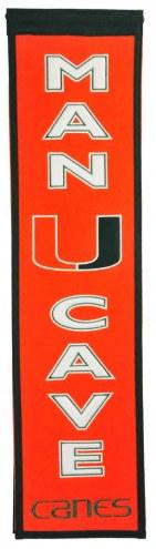 Miami Hurricanes Man Cave Banner