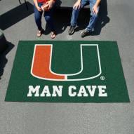 Miami Hurricanes Man Cave Ulti-Mat Rug
