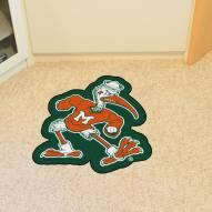 Miami Hurricanes Mascot Mat