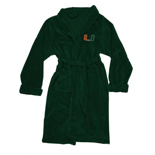 Miami Hurricanes Men's Bathrobe