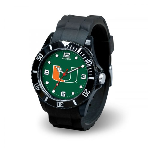Miami Hurricanes Men's Spirit Watch