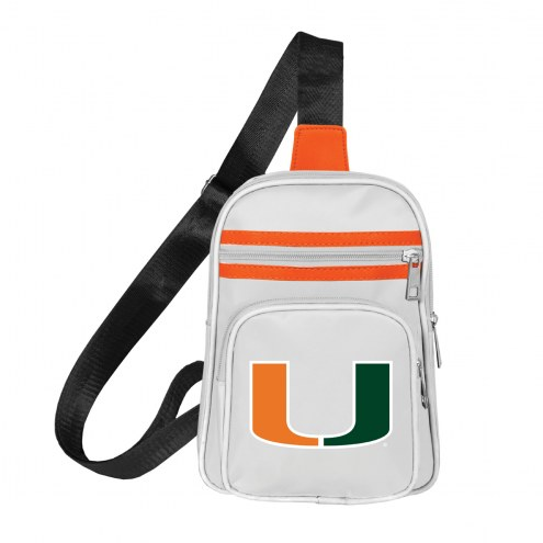 Miami Hurricanes Mini Cross Sling Bag
