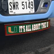 Miami Hurricanes NCAA Light Up Hitch Cover