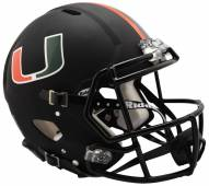 Miami Hurricanes Riddell Speed Full Size Authentic Football Helmet