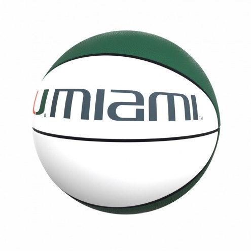 Miami Hurricanes Full Size Autograph Basketball