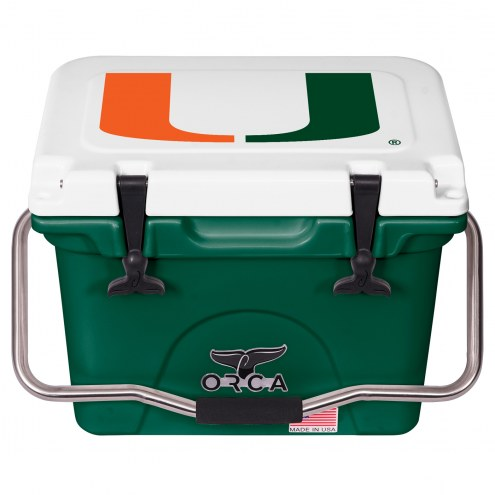 Miami Hurricanes ORCA 20 Quart Cooler