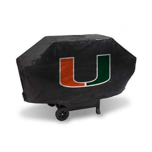 Miami Hurricanes Padded Grill Cover