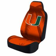Miami Hurricanes Palm Trees Universal Bucket Car Seat Cover