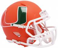 Miami Hurricanes Riddell AMP Mini Replica Helmet