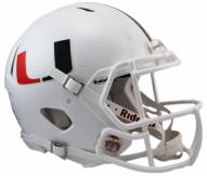 Miami Hurricanes Riddell Speed Full Size Authentic Football Helmet