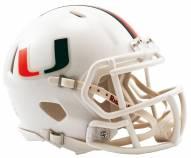 Miami Hurricanes Riddell Speed Mini Replica Football Helmet